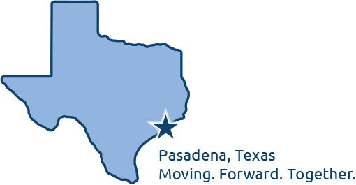 pasadena, tx moving. forward. together